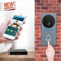 2019 neue Motion Sensor Ring Türklingel Wifi Video Tür Glocke mit 1080 P Kamera iOs Android Cordless Tür Glocke mit remote Entsperren-in Türklingel aus Sicherheit und Schutz bei