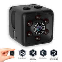 Mini Camera 1080P Portable Cube Camera Mini Security Camera Night Vision Motion Detection FULL HD Camera