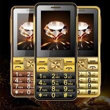 """Супер Громкий Звук Dual SIM Старший Мобильный Телефон GSM A19 2.6 """"Сенсорный Экран Большой Шрифт Старик Люди Телефон H-мобильный A19"""