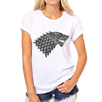 Fashion Women Lady Brand Style T Shirts Slim Fit Valar Morghulis Game Of Thrones T Shirts