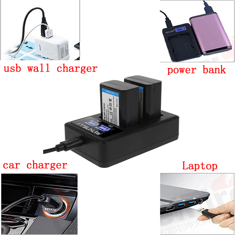 3Pcs DMW BLC12 BLC12E BLC12PP BLC12 Battery USB LCD Charger for Panasonic Lumix FZ1000 FZ200 FZ300 FZ2500 G5 G6 G7 GH2 DMC GX8 in Digital Batteries from Consumer Electronics