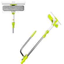 C,Upgraded Telescopic High-rise Window Cleaning Glass Cleaner Brush For Washing Window Dust Brush Clean Windows Hobot
