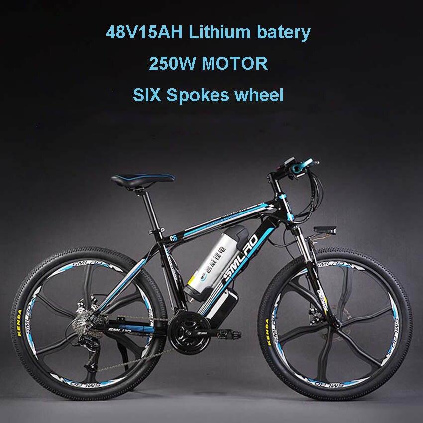 26inch Electric Mountain Bicylce 48Vlithium Battery 500w Motor Smart Lcd Assist Bike Pas Ebike Aluminum Mountain