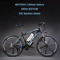 26inch Electric Mountain Bicylce 48Vlithium Battery 500w Motor Smart Lcd Assist Bike Pas Ebike Aluminum Mountain