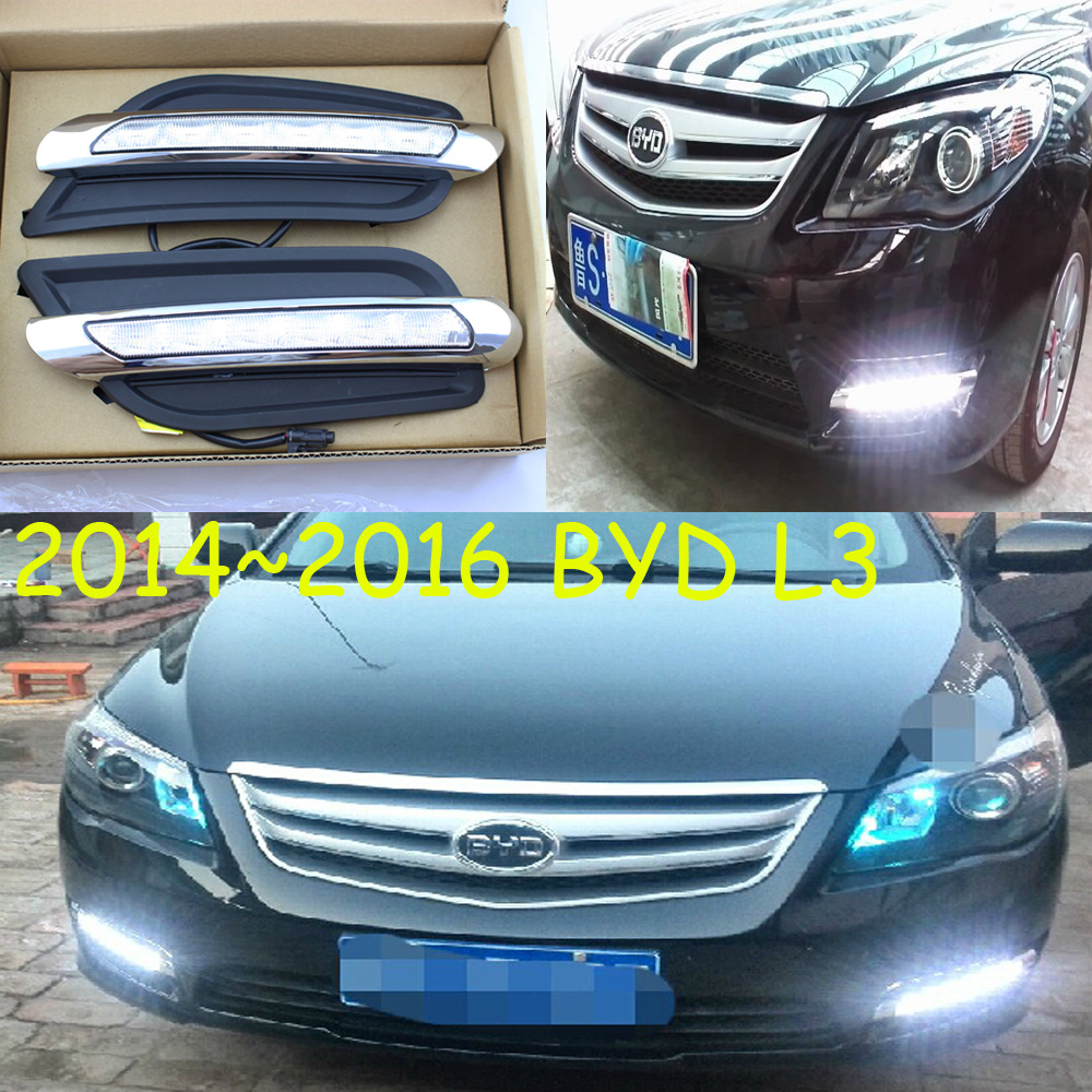 LED,2014~2016 BYD L3 daytime Light,BYD L3 fog light,BYD L3 headlight,f3,S6,S7,BYD L3 Taillight чехлы для автокресел boutique s6 s7 f0 f3 g3 g5 l3