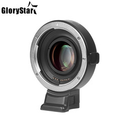 EF-E II Lens Mount AF Auto Focus Reducer Speed Booster Adapter For Canon EF Lens to Sony E-mount Camera