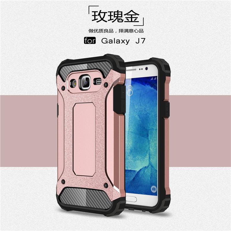 Hybrid carcasas para Cell Phone Back Cover For Samsung Galaxy J7 2016 - Ανταλλακτικά και αξεσουάρ κινητών τηλεφώνων - Φωτογραφία 6