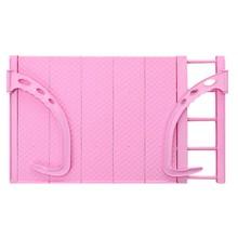 Adjustable Folding Clothes Drying Racks Multi-function Hanger Shelf Creative Balcony Storage Holder Outdoor Indoor