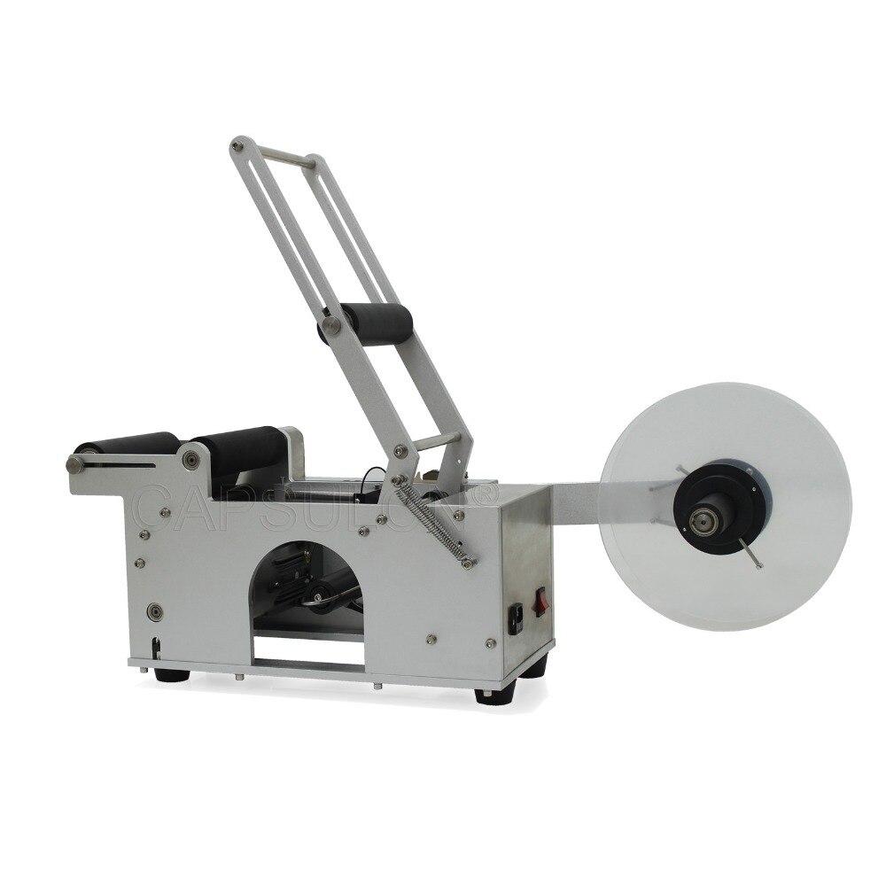 CapsulCN, MT-50 Econômico Máquina para Garrafas Redonda de Rotulagem (110 V/HZ 60)