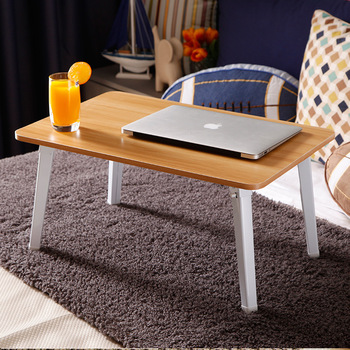 8% 1 Modern Simple Writing Computer Desk Foldable Laptop Table for Bed Sofa Portable Student Desk 4 Colors 60*40*30cm Стол