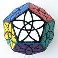 Nueva moda MF8 Bauhinia Dodecahedron cubo mágico Puzzle negro aprendizaje y educación juguetes cubos magicos rompecabezas muy challengin