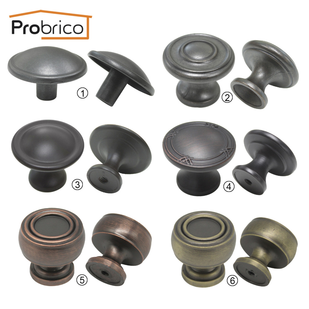 Kitchen Cabinet Knobs And Handles: Probrico Kitchen Door Cabinet Knobs Furniture Handles And
