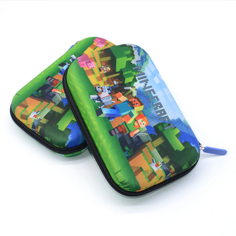 Minecraft Pencil Case Estojo Escolar Kalem Kutusu Estuche Escolar Etui Pencilcase School Kawaii My World Pen Box Lapices Grande все цены