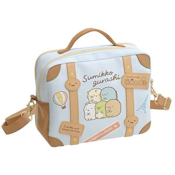 IVYYE 1PCS Sumikko Gurashi Fashion Anime PU Shoulder Bags Soft Tote Messenger Handbag Casual Bag Lady Girls New
