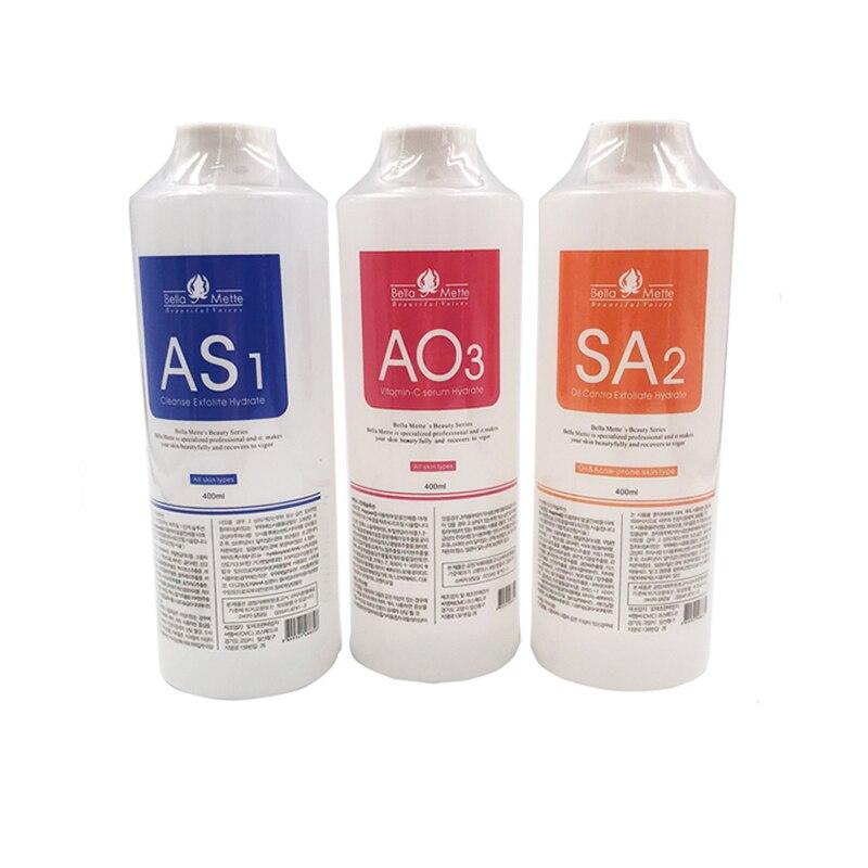 Aqua Peeling Solution 400ml Per Bottle Aqua Facial Serum Hydra Facial Serum For Normal Skin For Hydro Facial Dermabrasion