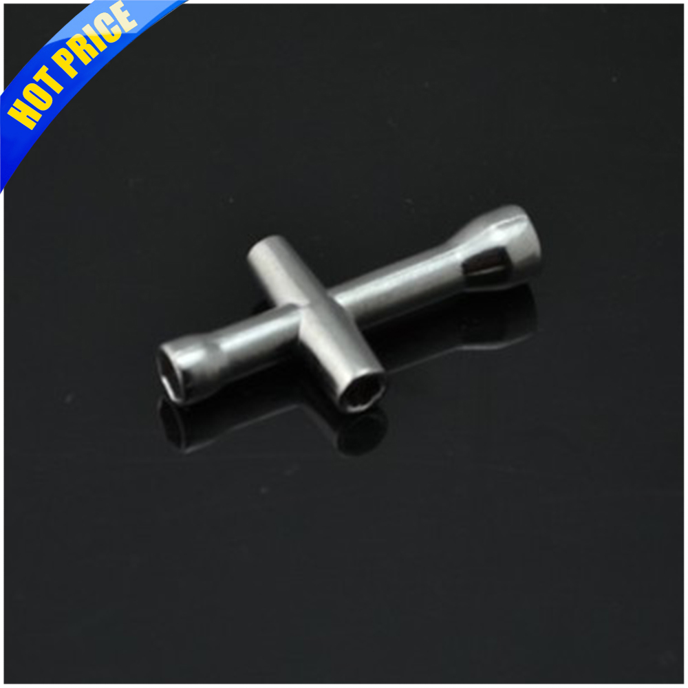 M2/M2.5/M3/M4 Cross Wrenches Maintenance Tools Sleeve Rc Hsp HSP 94123 Cross Wrenches Maintenance Tools Sleeve Silver HEX