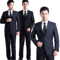 2017 Fashion Men Slim Fit Formal Blazer Suit Working Office Manager Interview Business Wearing Blazers Set
