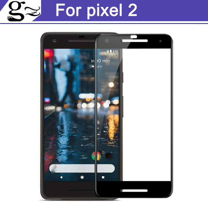 3D Full Cover Tempered Glass For Google Pixel 2 9H full Screen Protector Film For Google ...