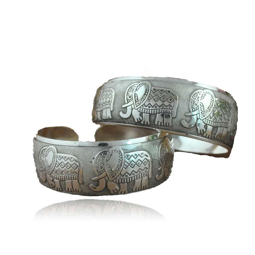 Newnest greek DST elephant Delta Sigma Theta Sorority sliver   Wide  cuff bangle Jewelry