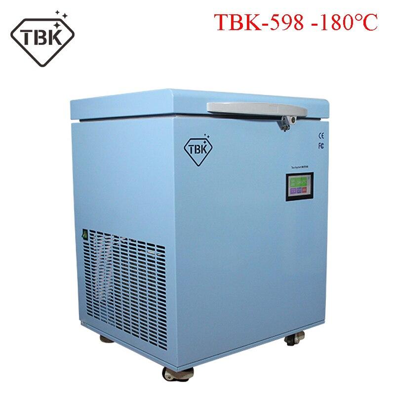 TBK-598-180C Painel LCD Tela de Toque Congelado Congelamento Máquina Que Separa Para Samsung note8 S7 S8 + S9/9 LCD Reparação Tela Sensível Ao Toque