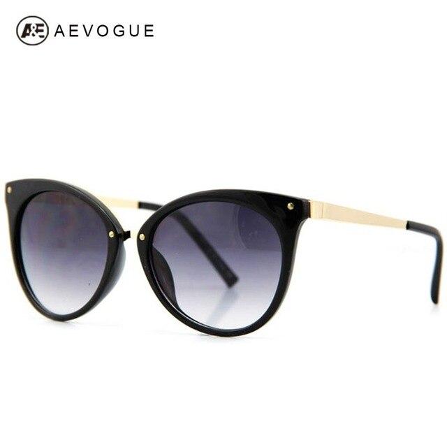 AEVOGUE ÓCULOS de Design Da Marca Gato Olho Óculos De Sol Das Mulheres Moda  Óculos Multicoloridos d1cca5b3b0