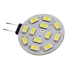 10pcs Spotlight 12*5730SMD 3W G4 LED Lamp corn led Mini Lampada Bulb High Power 360 Degree Replace Halogen  12V