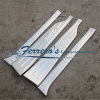 Free shipping for Peugeot 3008 2008 stainless steel scuff plate inside door sill 4pcs/set high quality