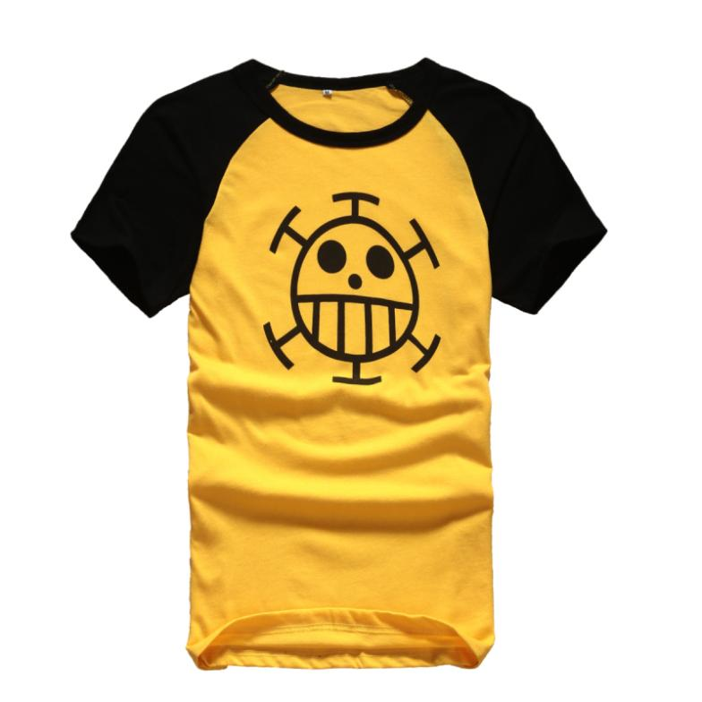 Hot Summer Adults T-shirt Jp Anime One Piece Tees Casual Style Print Shirt  Tees  For Unisex