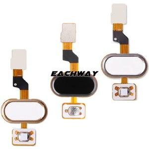 Image 5 - Meizu M3S mini Home Button MEIZU M3S Vingerafdruk Flex Kabel Lint Vervangende Onderdelen Zwart/Wit/Goud MEIZU M3S mini Button