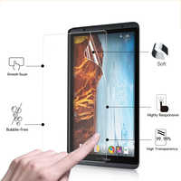 "Premium clear Glossy Protective films For Verizon Ellipsis 8 8.0"" tablet pc Anti-Scratches HD LCD Screen Protector Film + tools"