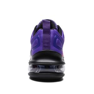 Image 3 - X Hot Koop Paars Kleurrijke Star Luchtkussen Vrouwen Sneakers Air Trainers gym Paar Schoenen Comfort Elastische Race Vrouwen Schoenen casual