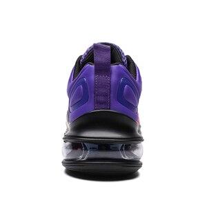 Image 3 - X Лидер продаж, фиолетовый Цветной Звезда воздушные подушки Для женщин спортивные кроссовки, кроссовки тренажерный зал обувь для него и для нее; удобные эластичные гонки женская обувь Повседневное