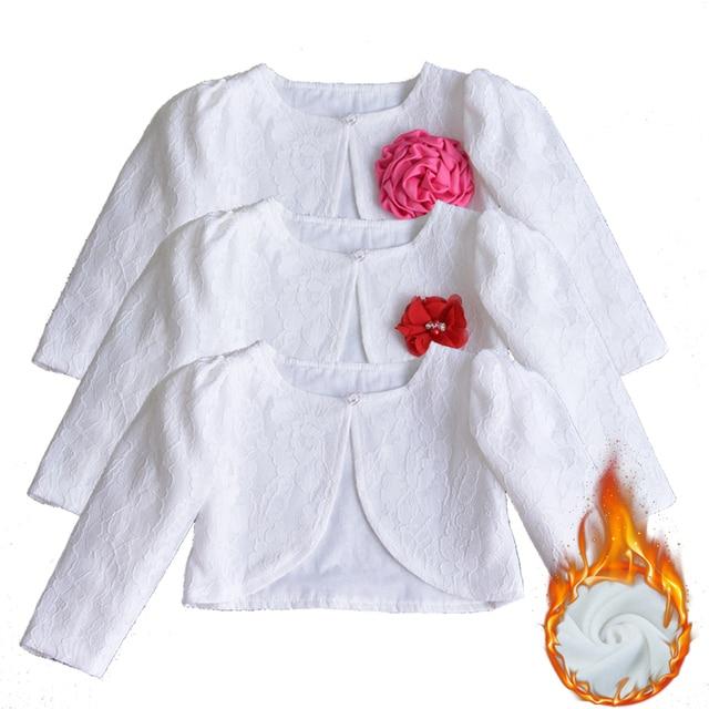 92f190433fd8 Princess Girls Lace Shawl for Newborn Baby Shrug Short Cardigan ...