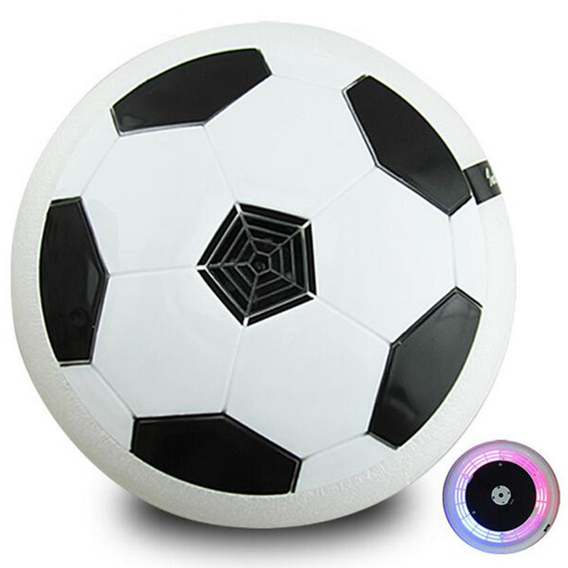 Magic Creative Toys for Boys and Girls Air Power Soccer Disc Indoor Football Toy Multi-surface Hovering Gliding Toy