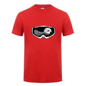 Квадратный Trek MTB горный велосипед футболки Crewneck футболки с коротким рукавом 2019 Ride Mask Футболка Модный мужской очищенный хлопок
