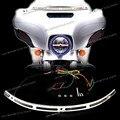 LED Iluminado Moldura de Parabrisas Para Harley Touring Electra Glide Street Glide FLHX 2014UP