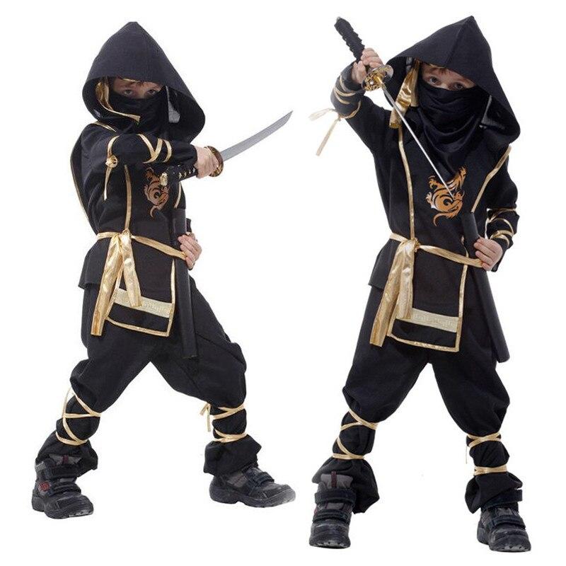 Dragon Ninja Costumes Children Cosplay Fancy Dress