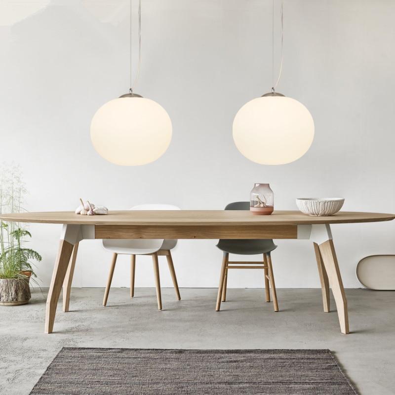 Modern Pendant Light Globe Glass Pendant Lamp For Kitchen