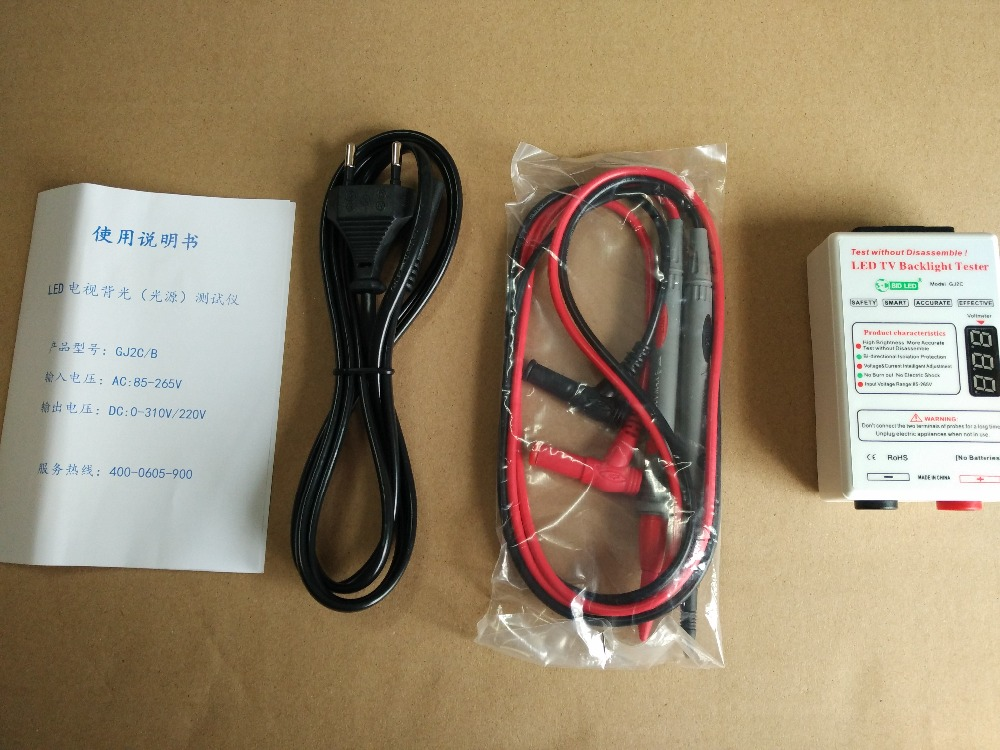 100% new 0-320v Smart-Fit TV LED Backlight Tester Laptop Lamp Beads led Test Detect Repair GJ2C
