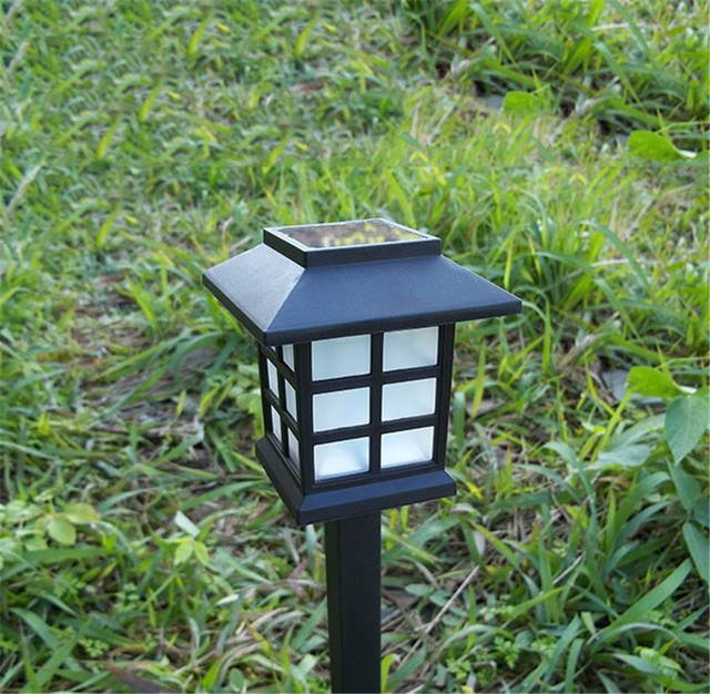Retro outdoor solar panel land stake light waterproof lawn lamps retro outdoor solar panel land stake light waterproof lawn lamps spotlight led path hallway lantern garden workwithnaturefo