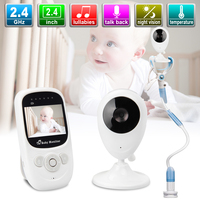 2.4Inch Baby Sister Wireless Video Monitor With Camera Night Vision Two way Talk Baby Nanny Lcd Security Camera Monitor