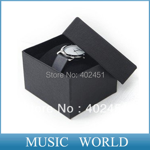 free shipping 3 colors 20pcs/Lot Watch box with pillow 8.6*9.1*5.3cm wristwatch packaging boxes drop shipping