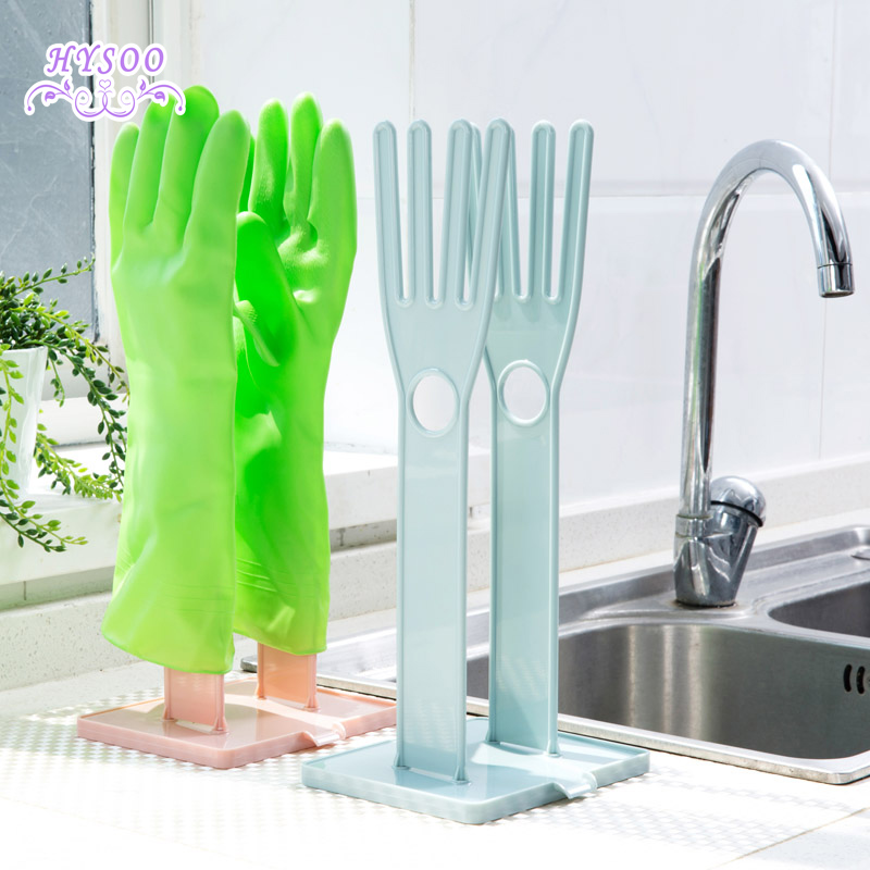 Plastic font b Household b font font b Glove b font Leakage Tarpaulin Storage Shelf Kitchen