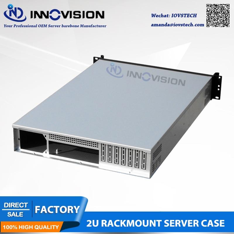 Elegancka obudowa serwerowa do montażu w szafie rack 2U RC2650L L = - Komputery przemysłowe i akcesoria - Zdjęcie 3