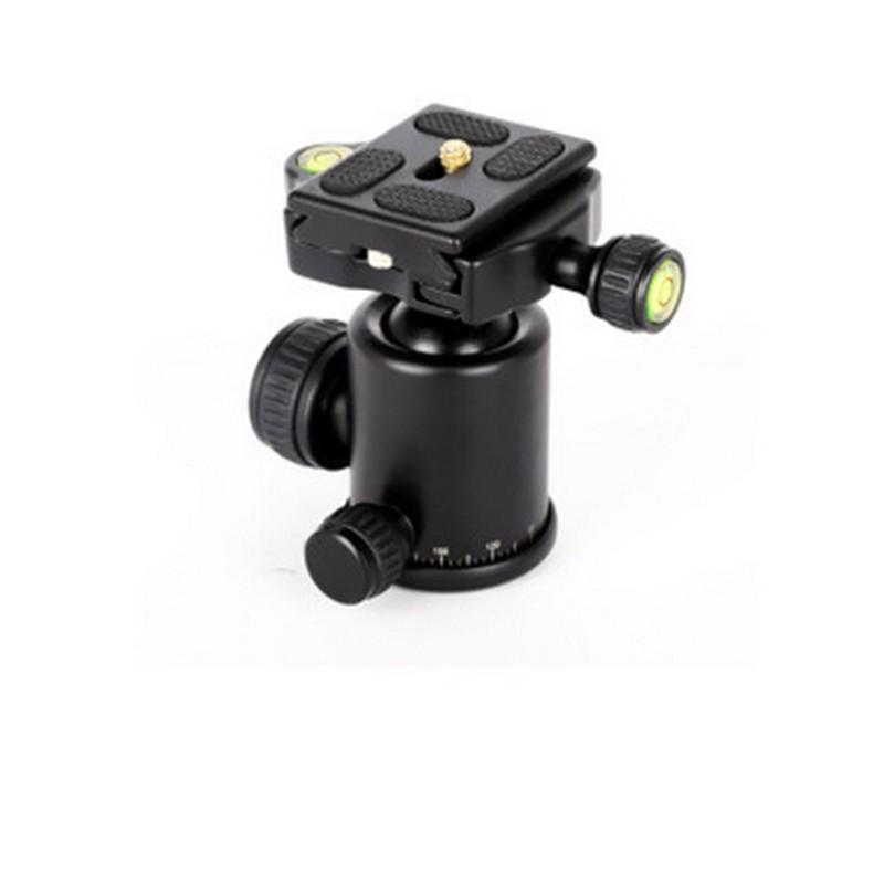 QZSD-06-Aluminum-Camera-Tripod-Ball-Head-Ballhead-Quick-Release-Plate-Pro-Camera-Tripod (1)