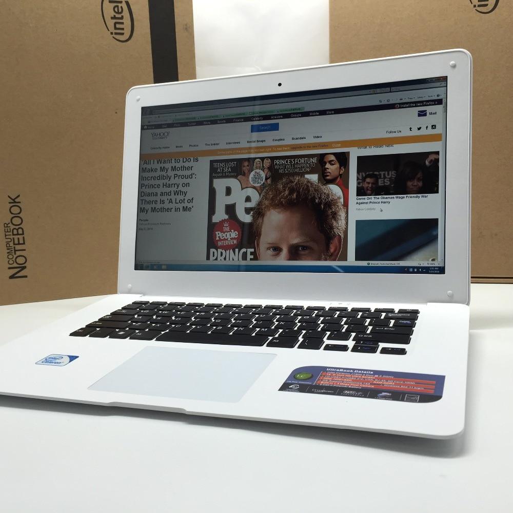 2017 14 дюймов Тонкий ноутбук Intel Pentium N3510/3520/3530/3540 8 г ОЗУ 1 ТБ HDD windows 7/8/10 Tablet встроенной камерой для скидки