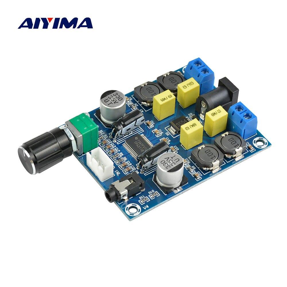 Aiyima TPA3118D2 Digitale Bordo Amplificatore Amplificador Dual Channel Amplificatore Audio Consiglio 45 W * 2 Per 4-8ohm Speaker Amp DIY