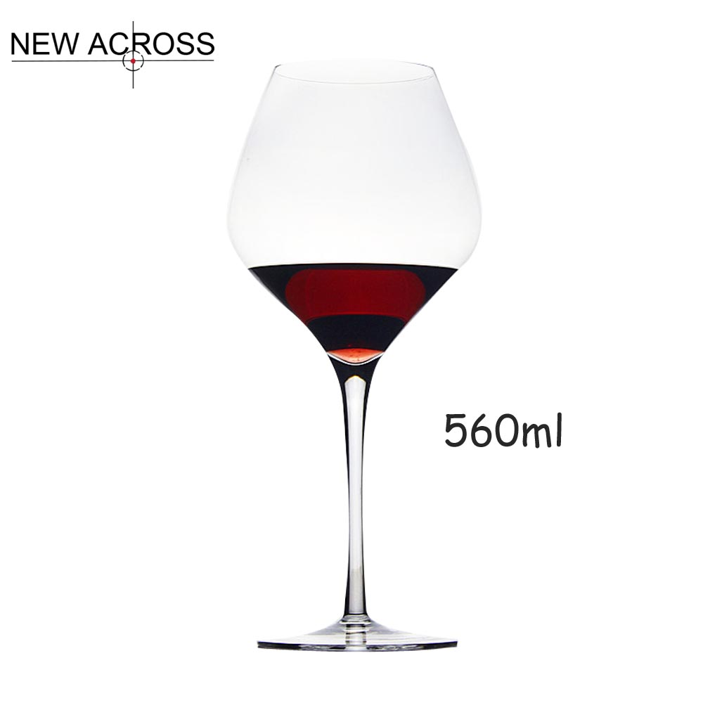 Gohide classic goblet wedding glasses for champagne lead for Large red wine glass