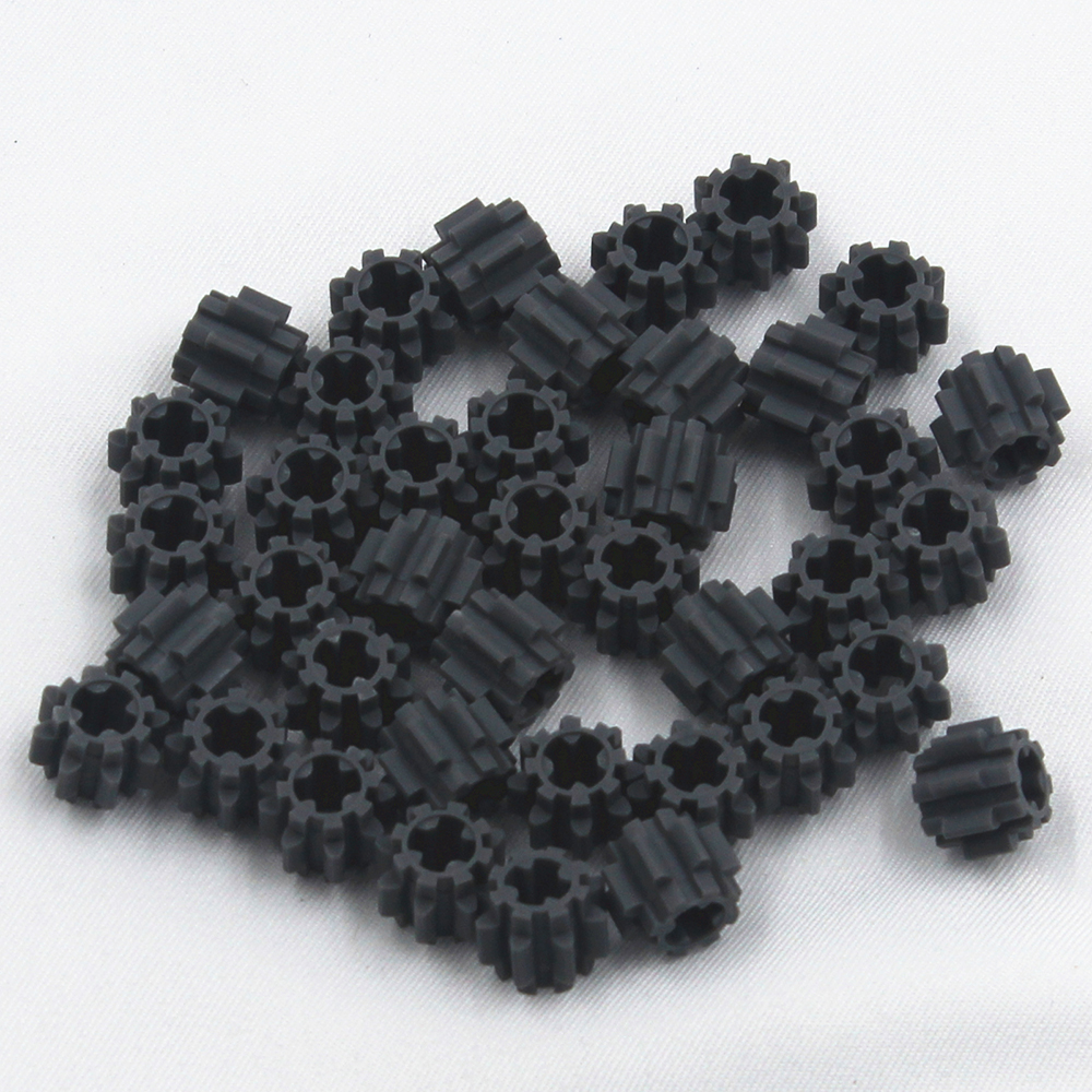 Self-Locking Bricks Free Creation Of Toy Technic GEAR WHEEL T=8 40Pcs Compatible With Lego