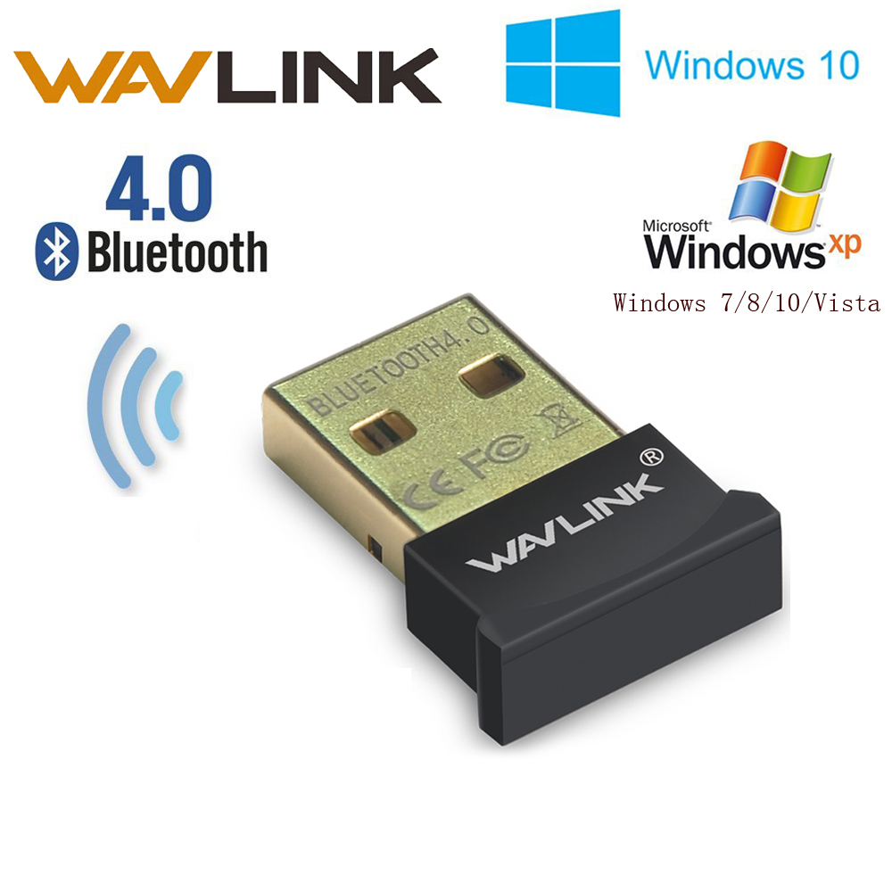 Wavlink Mini Wireless USB Bluetooth 4.0 CSR4.0 Adapter Dongle Nano Wavlink Portable For PC Laptop Tablet Headser Win 10 XP Vista